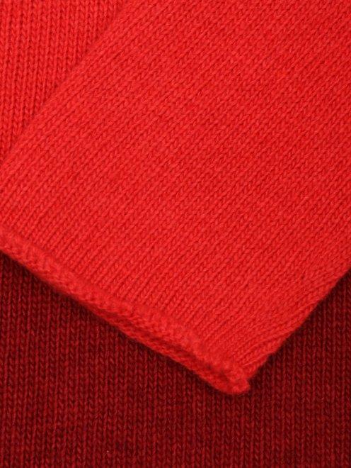 Платье из шерсти с круглым вырезом  - Деталь1