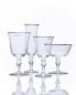 Чаша для шампанского с платиновым кантом, высота - 11,4 см, диаметр - 11,2 см NasonMoretti  –  Обтравка1