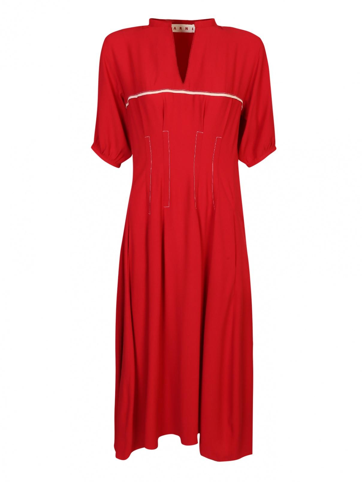 Платье из вискозы Marni  –  Общий вид