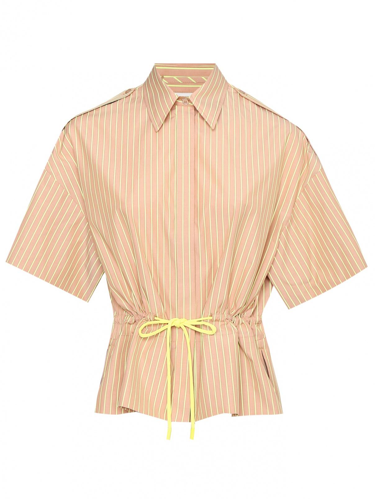 Рубашка из хлопка в полоску Sportmax  –  Общий вид