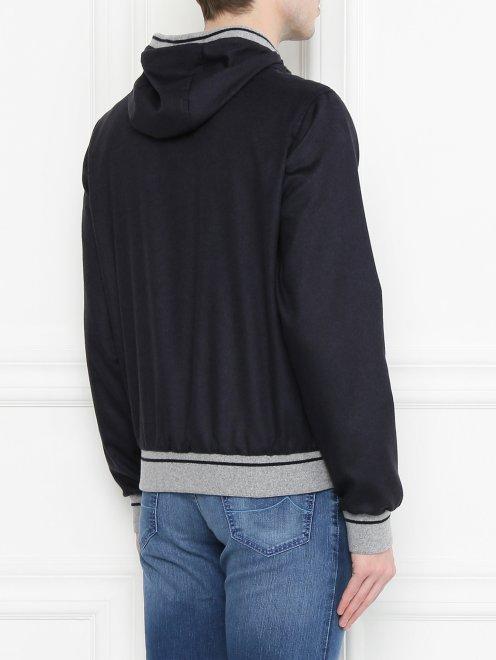 Куртка из шелка и кашемира - МодельВерхНиз1