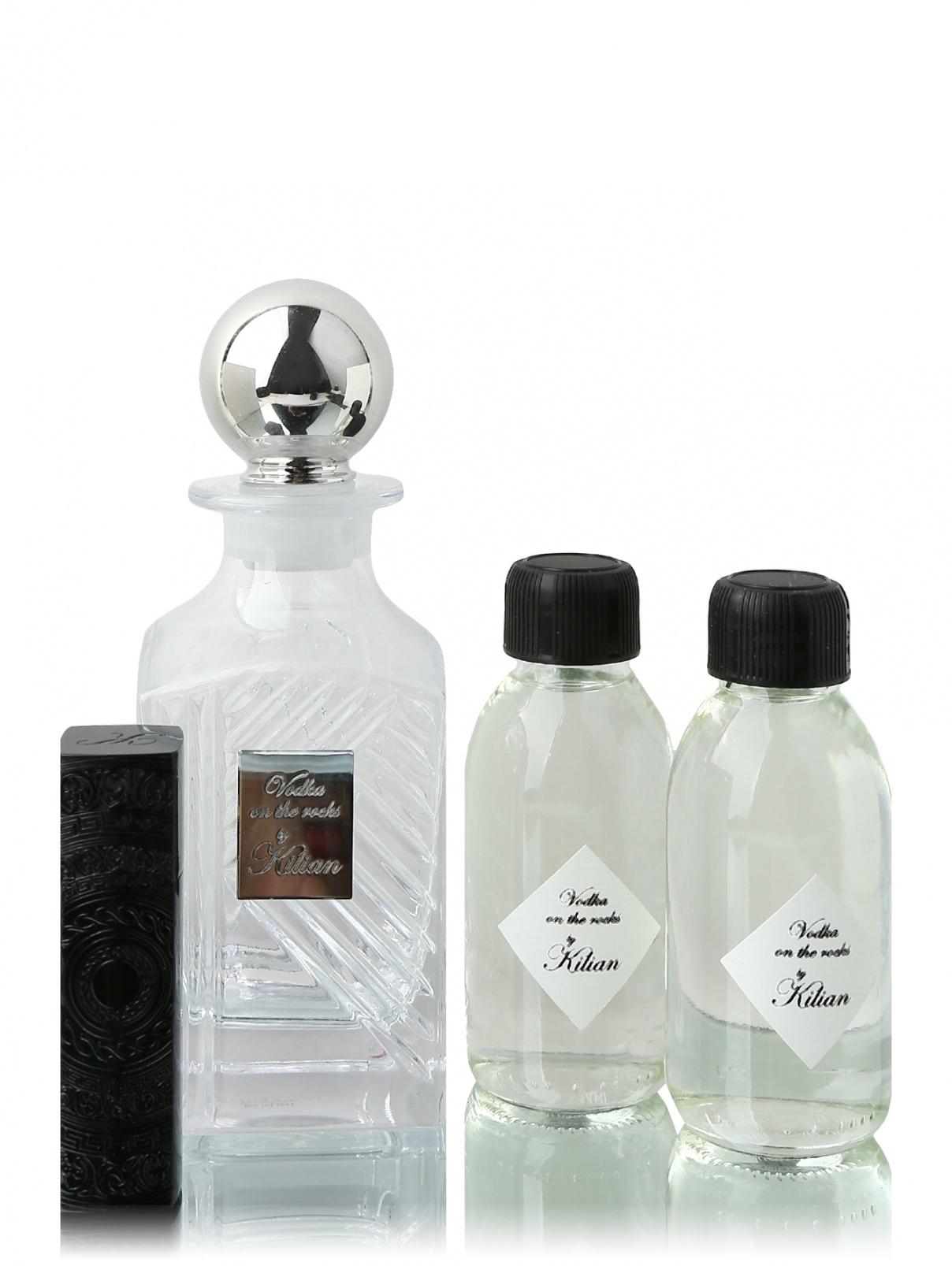 Набор 2х125 мл (графин + тревел-флакон) Vodka On The Rocks KILIAN  –  Общий вид