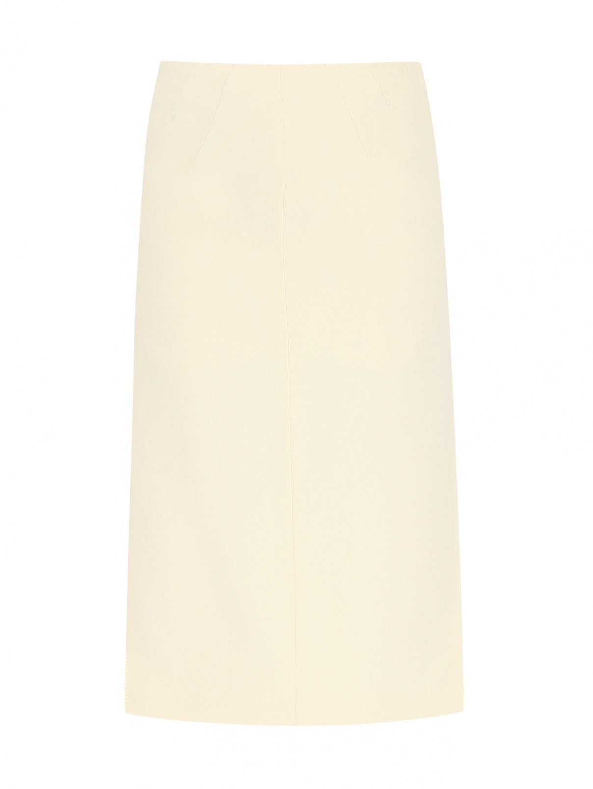Юбка-миди с разрезами N21  –  Общий вид