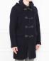 Пальто из шерсти Brooks Brothers  –  МодельВерхНиз