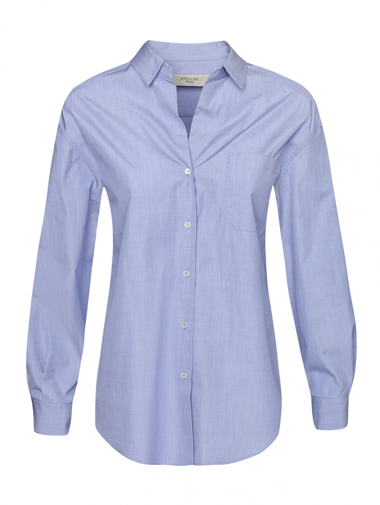 Блуза из хлопка Weekend Max Mara  –  Общий вид