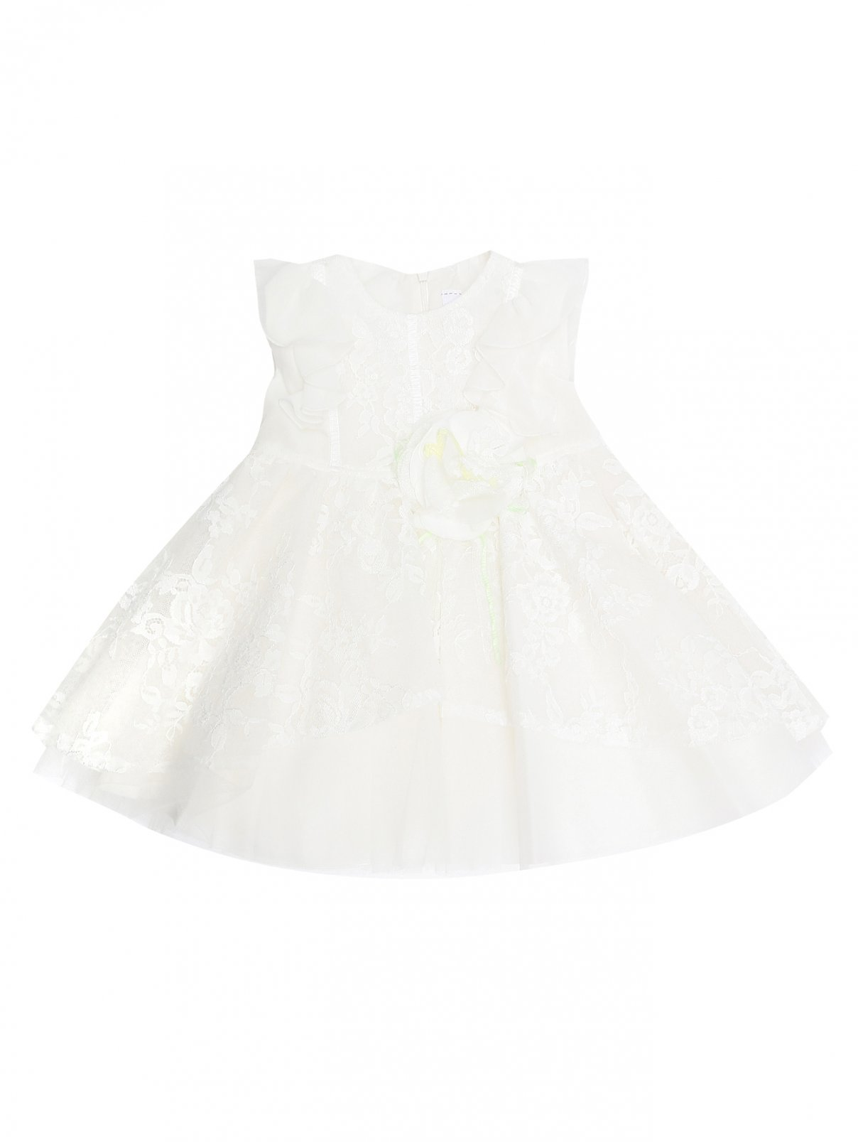 Платье с вышивкой без рукавов Aletta Couture  –  Общий вид