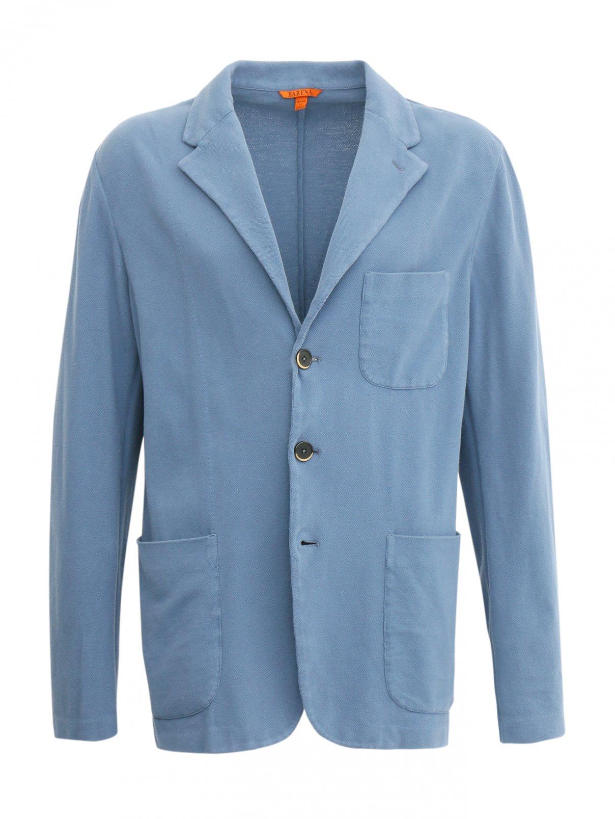 Пиджак из фактурного хлопка Barena  –  Общий вид
