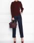 Джемпер из шерсти с декоративными пуговицами Nina Ricci  –  МодельОбщийВид