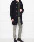 Пальто из шерсти Brooks Brothers  –  МодельОбщийВид