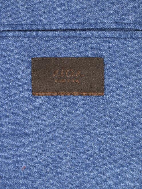 Пиджак однобортный из кашемира - Деталь2