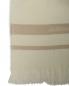 Плед фактурный из шерсти и шелка с бахромой 140 x 200 Agnona  –  Обтравка2