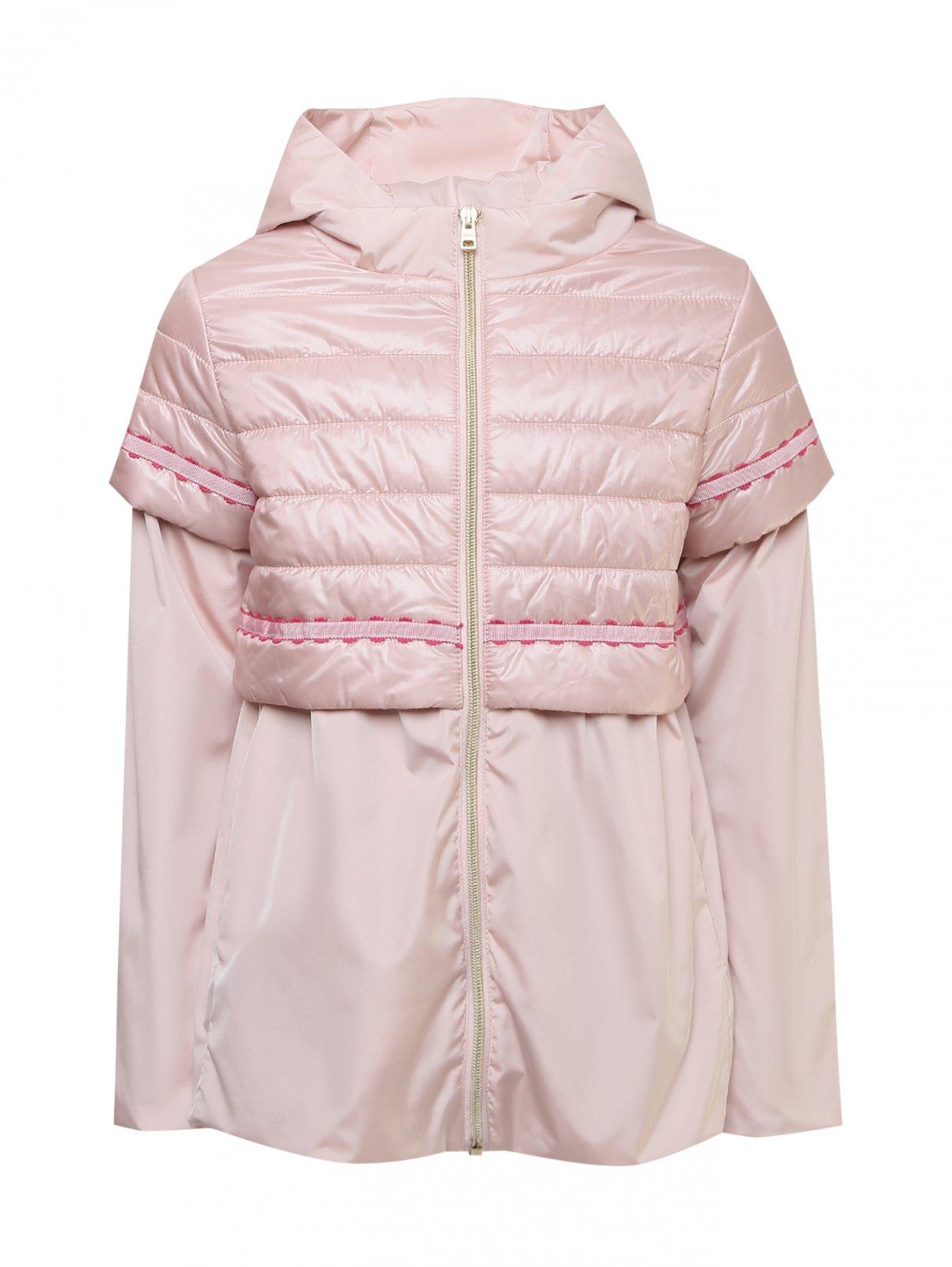 Куртка-трапеция с капюшоном Herno  –  Общий вид