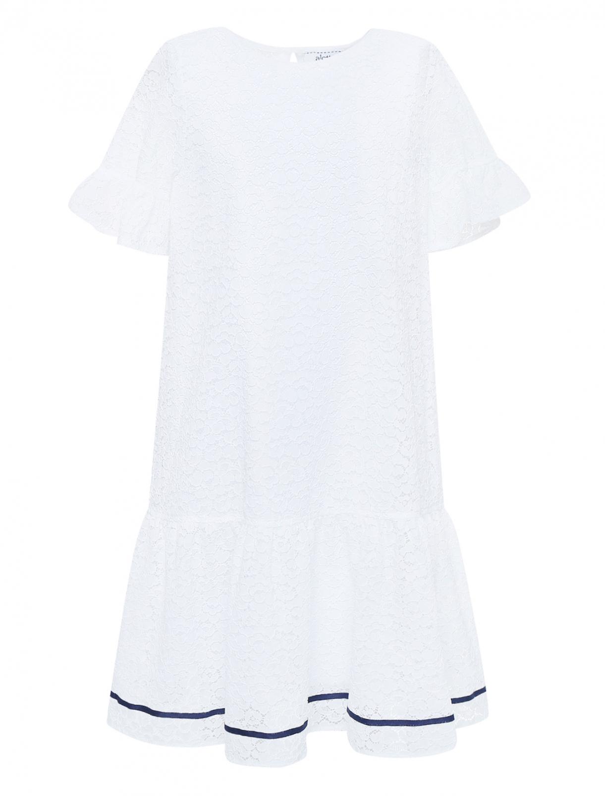 Платье кружевное с декором Aletta Couture  –  Общий вид
