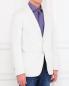Пиджак однобортный из хлопка LARDINI  –  Модель Верх-Низ