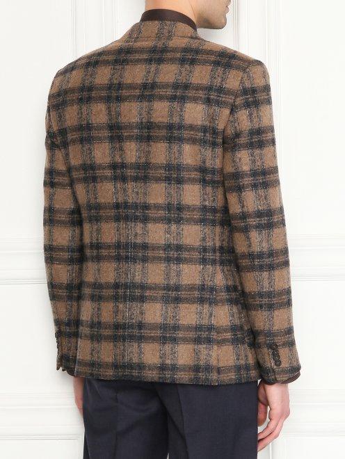 Пиджак из мягкой шерсти - МодельВерхНиз1
