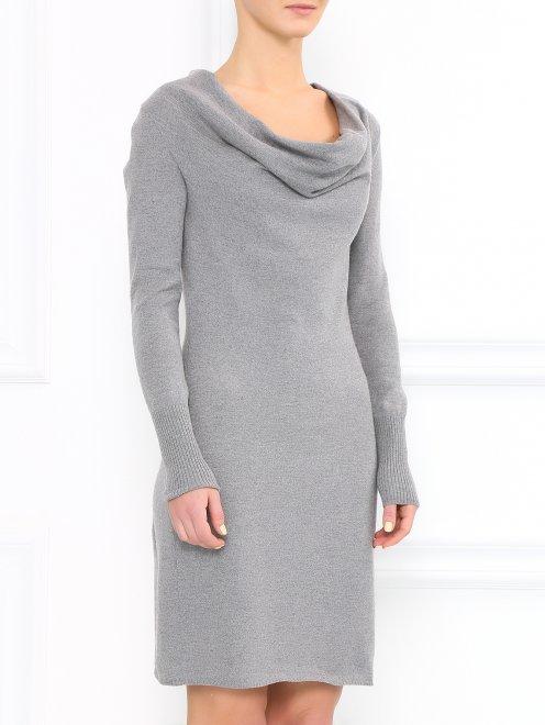 Платье из кашемира - Модель Верх-Низ