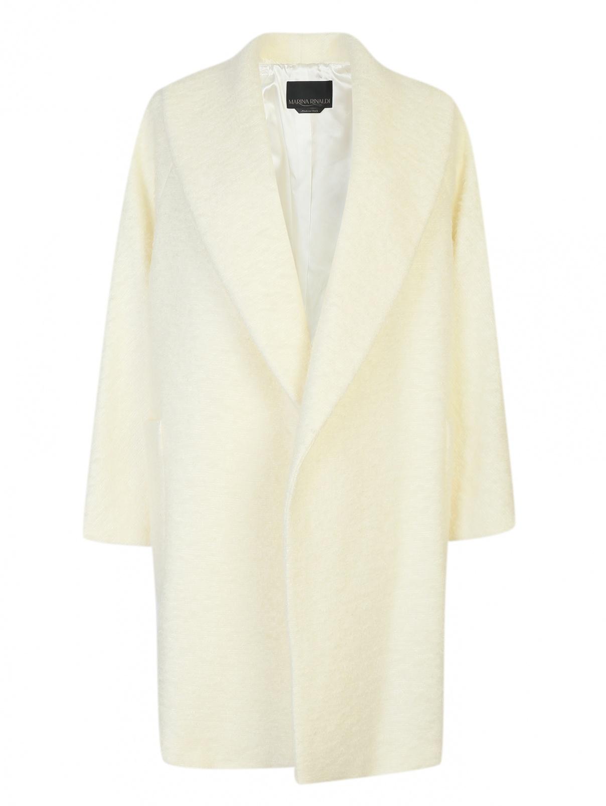 Пальто из шерсти и мохера Marina Rinaldi  –  Общий вид