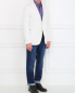 Пиджак однобортный из хлопка LARDINI  –  Модель Общий вид