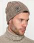 Шапка из кашемира и хлопка с вышивкой Kangra Cashmere  –  МодельОбщийВид