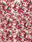 Платье-мини из вискозы с цветочным узором Max&Co  –  Деталь1