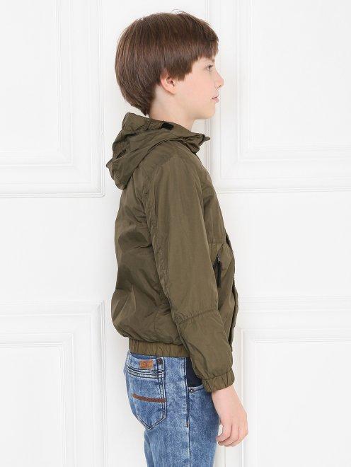 Куртка ветрозащитная с капюшоном - МодельВерхНиз2