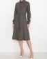 Платье из вискозы с узором Weekend Max Mara  –  МодельОбщийВид