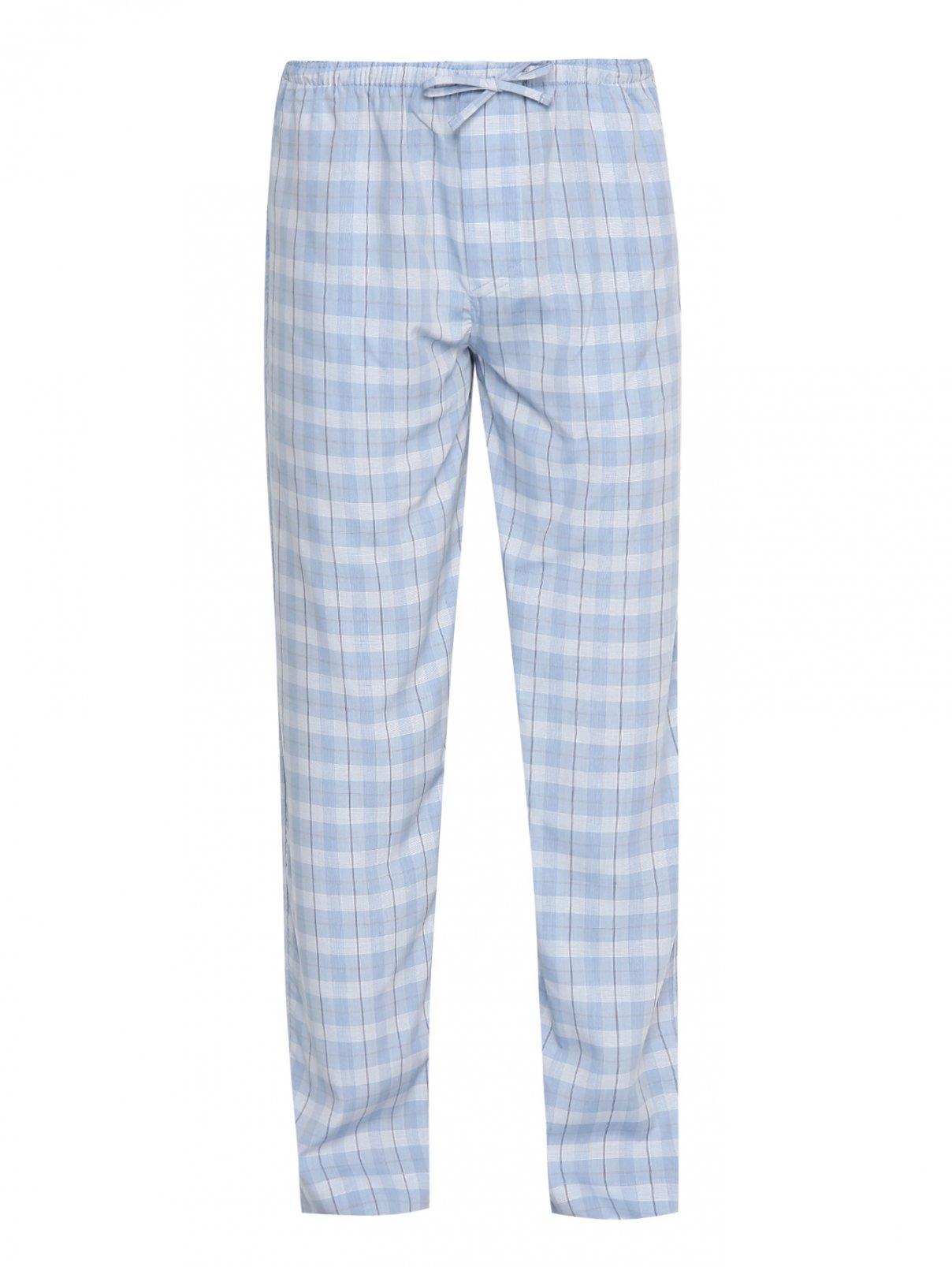 """Пижамные штаны с узором """"клетка"""" Yudashkin kids  –  Общий вид"""