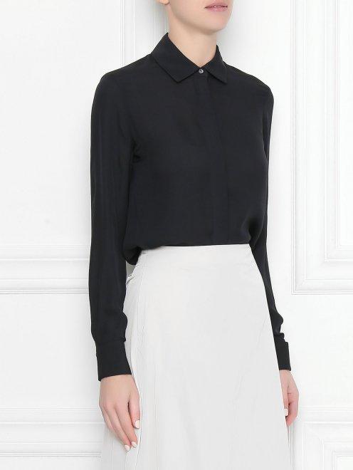 Блуза шелковая - МодельВерхНиз