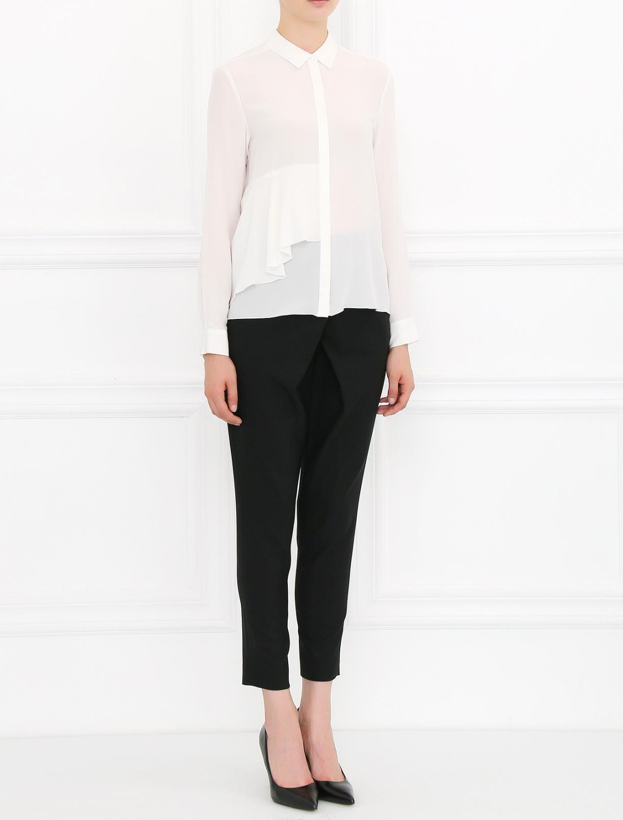 Укороченные брюки из шерсти Max&Co  –  Модель Общий вид