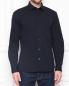 Рубашка из хлопка с карманом и вышивкой Burberry  –  МодельВерхНиз